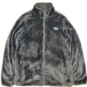 Fila Sport Plush Faux Fur Jacket Womens Jacket